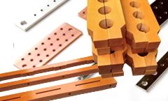 銅バー・樹脂・木材・ゴム加工