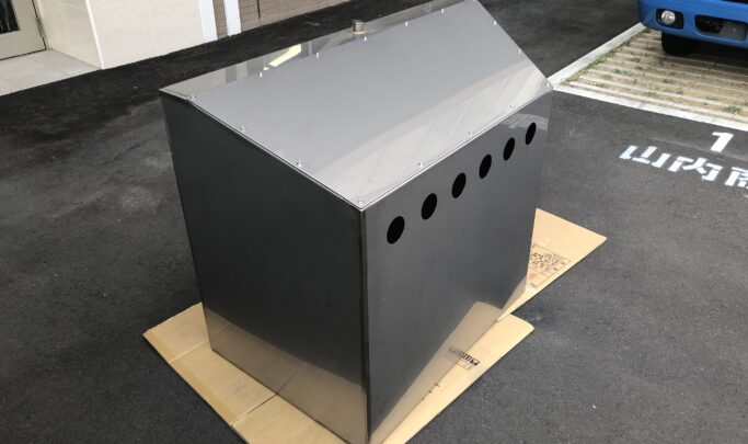 SUS変形ボックス