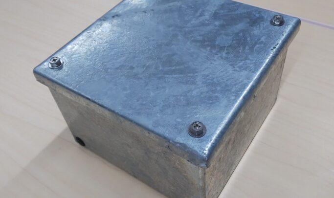 溶融亜鉛メッキ国交仕様プルボックス