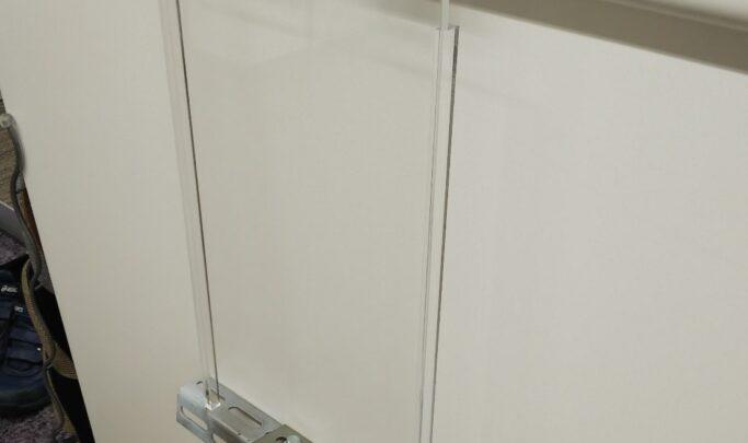 電気室アクリルカバー