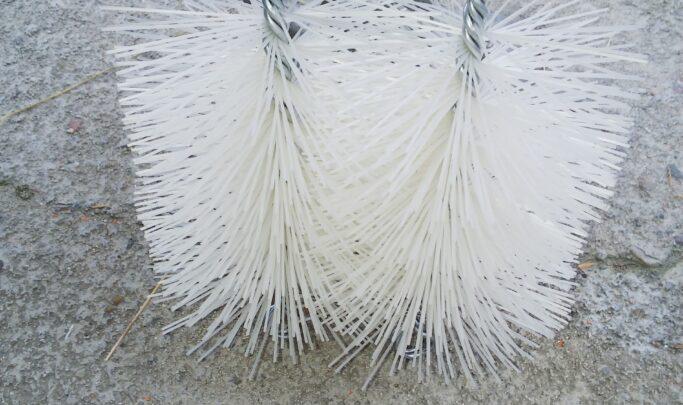 埋設管通過試験用ブラシ