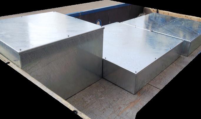 防水被せ蓋プルボックス